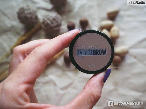 Помада для бровей MAYBELLINE Tattoo Brow Pomade фото