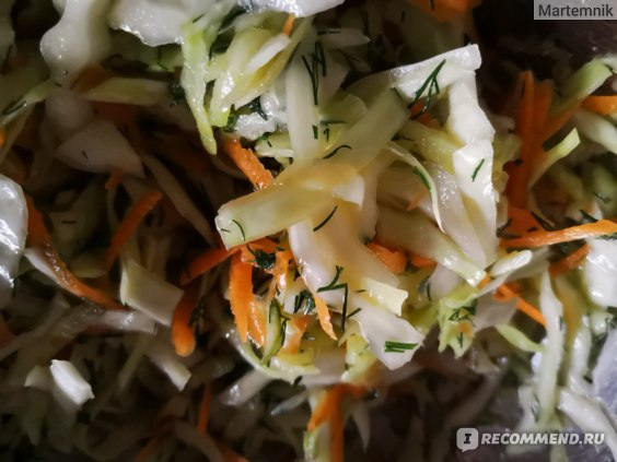 В этом салате примерно 200 ккал за счет неполной столовой ложки  масла.