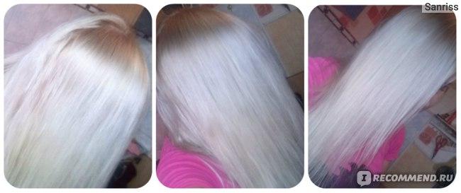 Белые волосы без желтизны