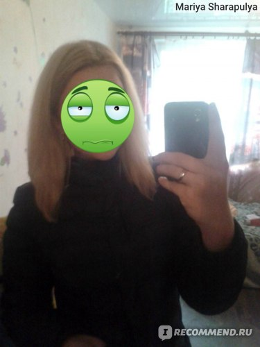 волосы после шампуня...нет даже завитков