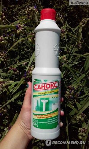 Чистящее средство Аист Санокс фото