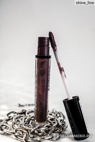 Жидкая матовая помада NYX Professional Makeup Lip Lingerie Liquid Lipstick  фото
