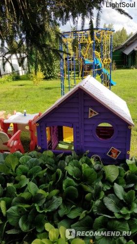 Детский домик для улицы LECO LKids фото