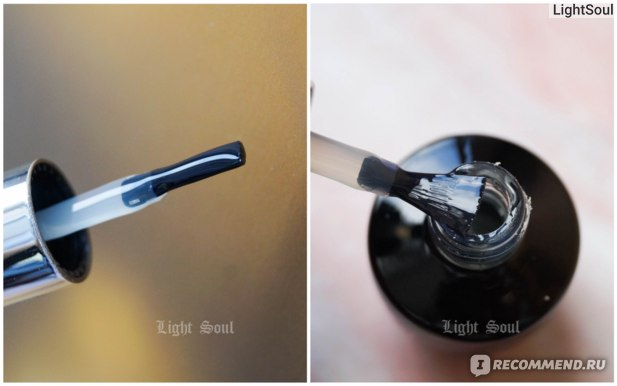 Верхнее покрытие для гель-лака Hypnose Rubber Idel Top no wipe
