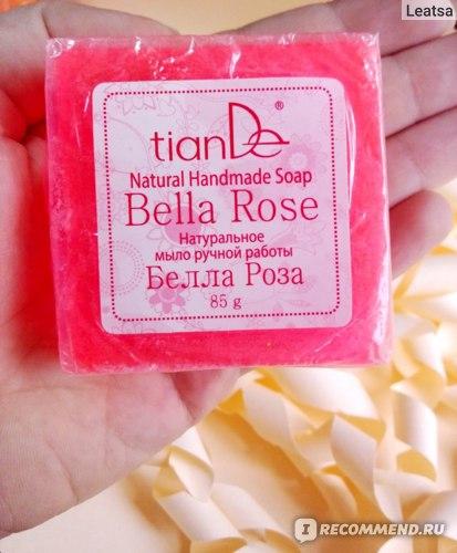 Мыло ручной работы TianDe Белла Роза фото