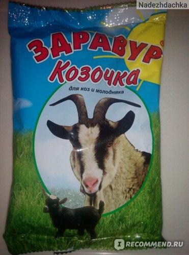 Премикс Здравур Козочка для коз и молодняка фото