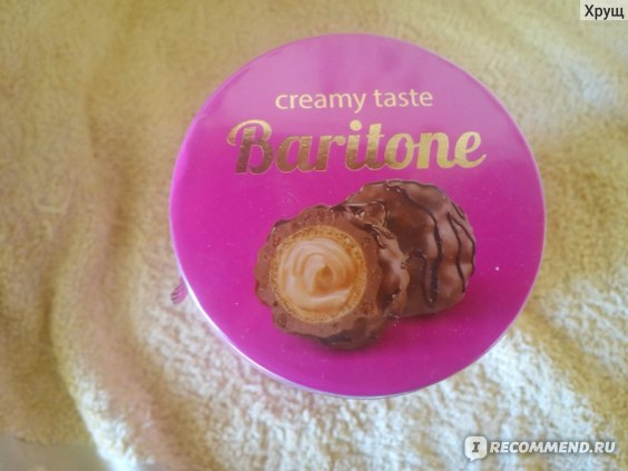 Конфеты АВК Baritone creamy taste фото
