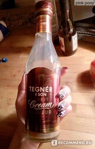 Ликер Tegnér & Son Finest Cream Liqueur фото