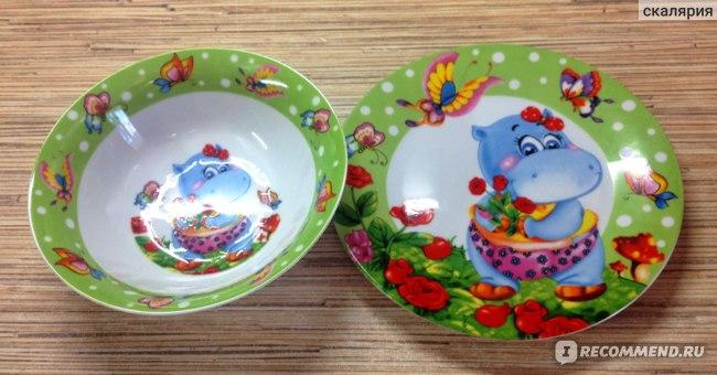 Набор детской посуды Milvis фото