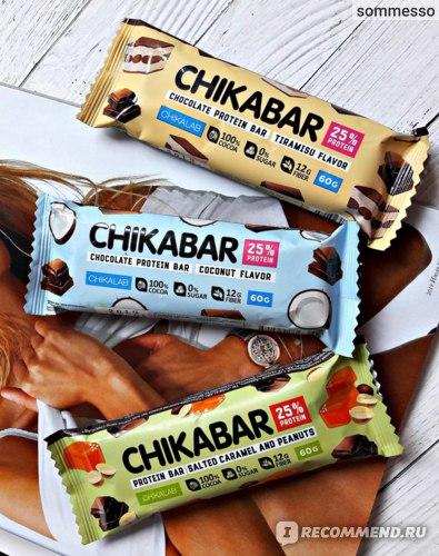 Протеиновый батончик ChikaLab ChikaBar глазированный