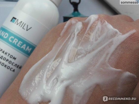 Крем для рук BY MILV С экстрактом морских водорослей и маслом кокоса фото