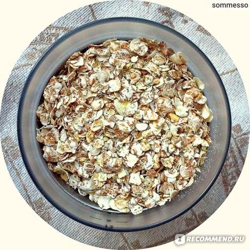 Каши быстрого приготовления Nordic 4 вида зерновых с овсяными отрубями фото