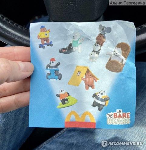 Фастфуд McDonald's / Макдоналдс Mcdonalds Хэппи Мил фото