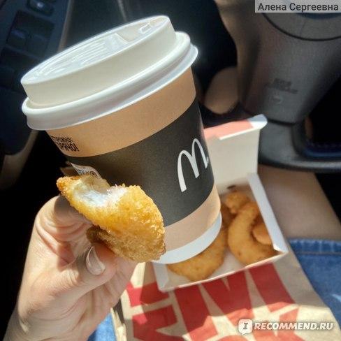 Кофе McDonald's / Макдоналдс Капучино фото