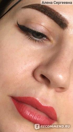 «Свежий» перманентный макияж. До отхода корочек.