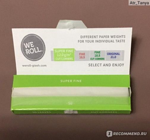 Бумага для самокруток GIZEH  Сигаретная фото