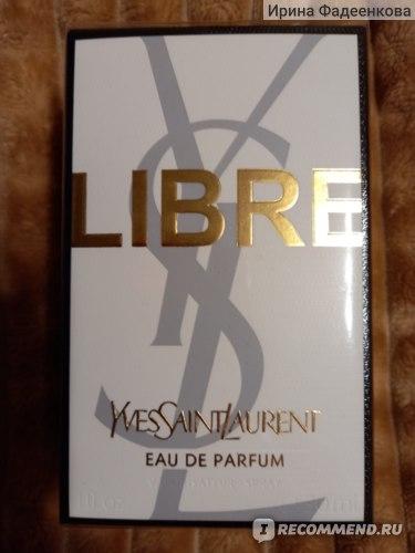 Yves Saint Laurent LIBRE  фото