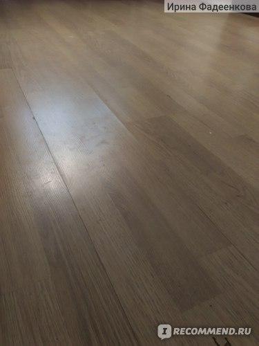 Полы на кухне ДО мытья