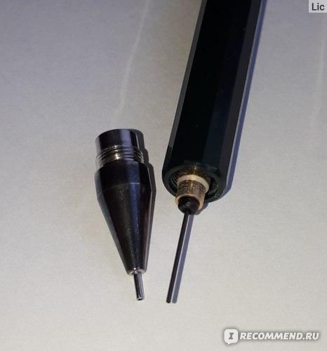 Faber-Castell details Направляющая и Цанговый механизм