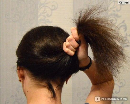 Глазирование волос в салоне фото