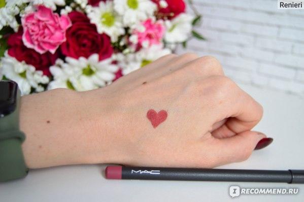 Карандаш для губ MAC lip pencil фото