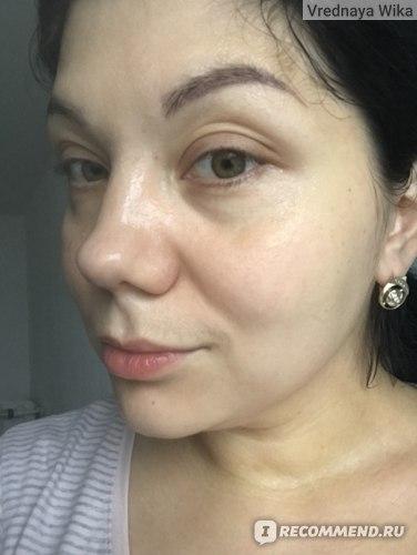 кожа сразу после использования маски