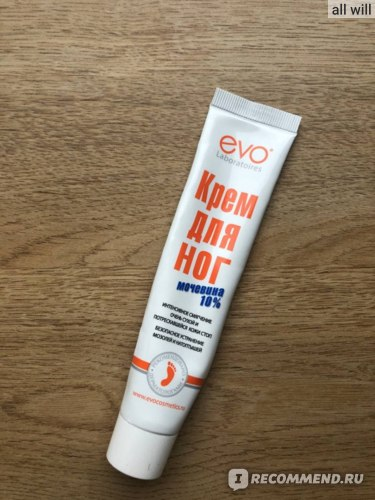 Крем для ног  EVO с мочевиной 10% фото