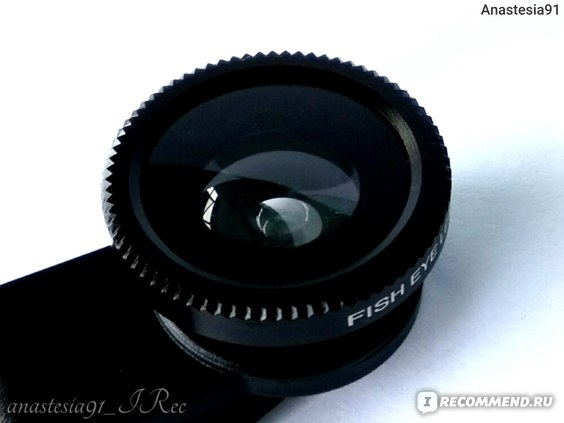 Clip Mobile Phone Lens Fish Eye, Macro, Wide Angle - 3 in 1