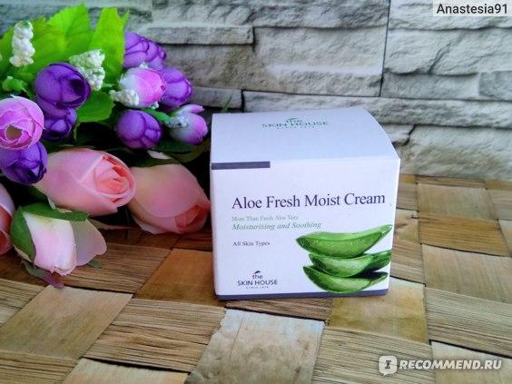 Крем для лица The Skin House Aloe Fresh Moist Cream
