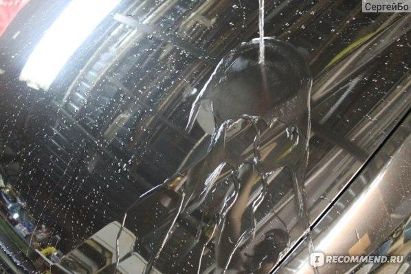 Автополироль Жидкое стекло Стекловидный полимер W-5 фото
