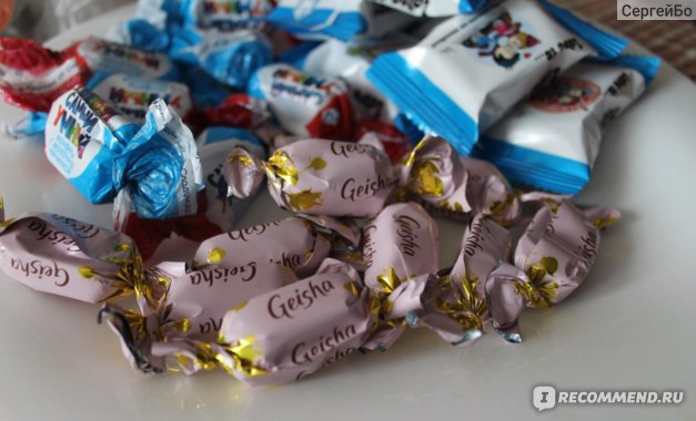 конфет Fazer Geisha