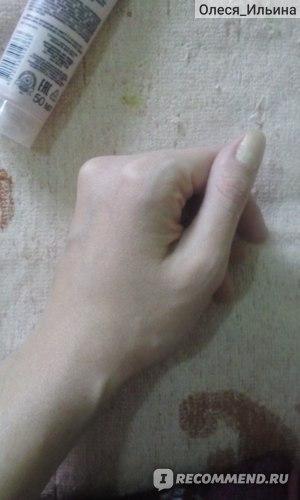 Рука без крема