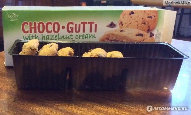 Печенье Bogutti Choco-Gutti with Hazelnut Cream фото