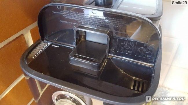 Кофеварка Philips HD 7762: залив воды
