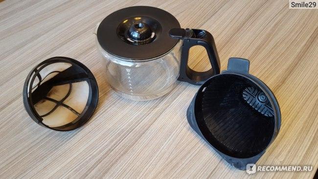Кофеварка Philips HD 7762: съемные части