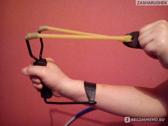 Aliexpress Рогатка Folding Wrist Sling Shot Slingshots High Velocity Hunt Brace Bow Outdoor Hunting 02Q4   фото