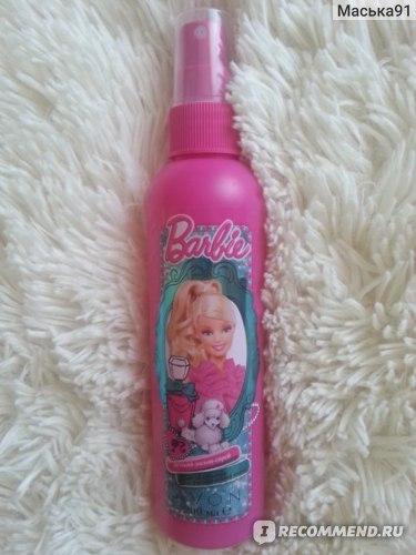 """Средство для волос Avon Детский лосьон-спрей для облегчения расчесывания волос """"Милашка Барби"""" фото"""