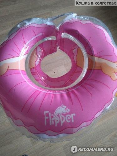 Круг на шею для плавания Roxy Kids Flipper Балерина фото