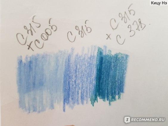 Цветные карандаши Derwent Coloursoft фото