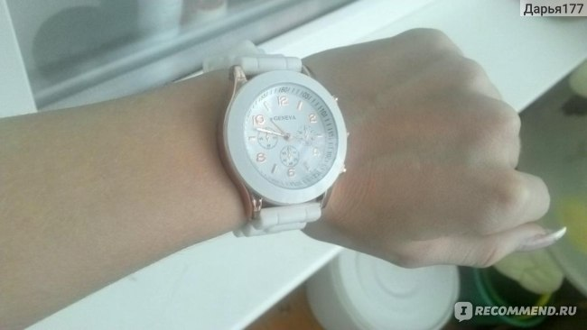 Часы Aliexpress 2012 GENEVA Watch Gel Crystal Silicone Men Lady Jelly Watch фото