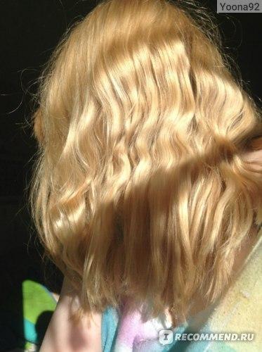 Волосы на солнце
