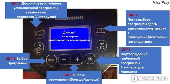 Мультиварка Redmond RMC-250 фото