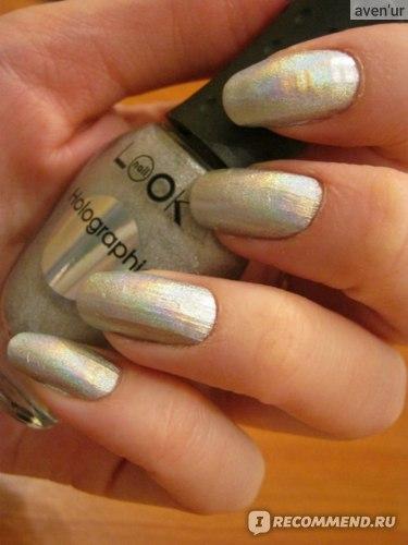 Лак для ногтей NailLOOK Holographic фото