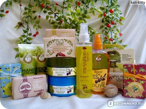 Сайт Интернет-магазин olivelove.ru - Натуральная косметика из Греции фото