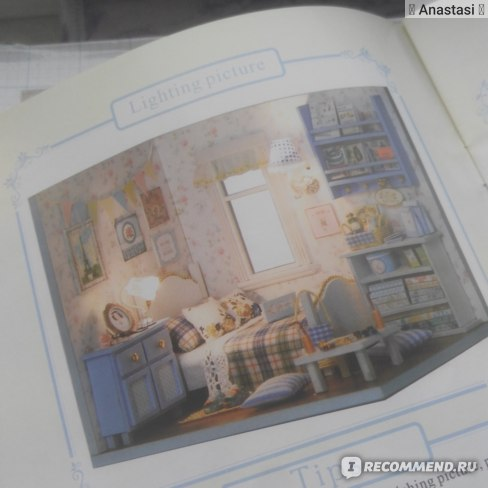 """Миниатюрный кукольный домик с мебелью - Румбокс TuKIIE """"DIY HOUSE""""  Стиль Sunshine Overflowing фото"""