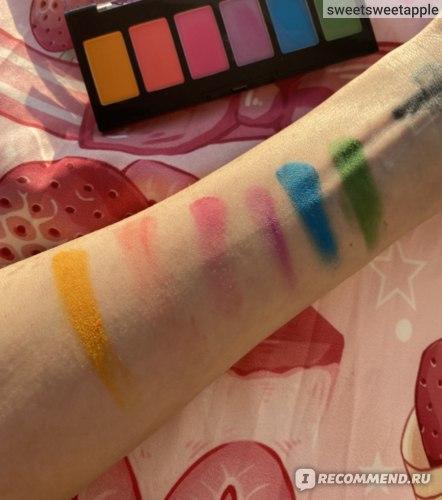 Палетка теней для век NYX Professional Makeup Ultimate Edit Petite Shadow Palette - отзыв, обзор, мнение