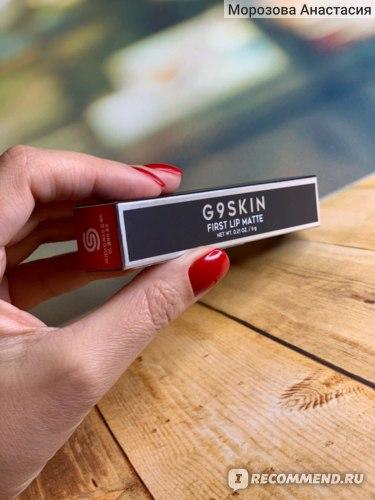 Жидкая матовая помада G9 SKIN First Lip Matte  фото