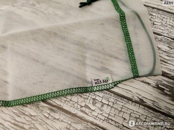 Мешочек Home milk bag для приготовления растительного молока фото