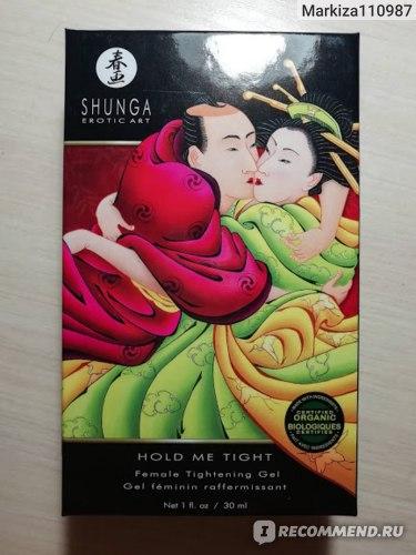 Крем вагинальный Shunga для сужения Hold Me Tight Тесный контакт