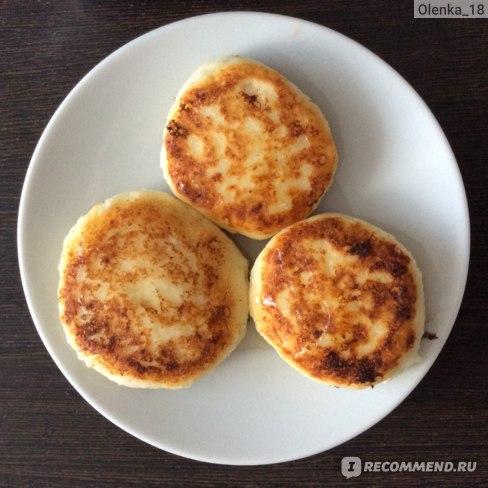 Сырники из цельнозерновой рисовой муки - рецепт пошаговый с фото